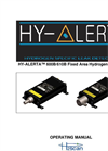 HY-ALERTA - Model 600B/610B - Fixed Area Hydrogen Monitor Manual