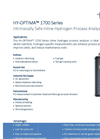 HY-OPTIMA™ 1700 Series Intrinsically Safe In-line Hydrogen Process Analyzer Data Sheet