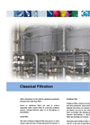 Classical Water Filtration System - Brochure