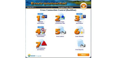 SEMS - Backflow Management Cross Connection Control Software