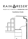 RainReserve Rain Barrel Systems Brochure
