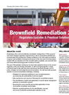 Brownfield Remediation Conference Programme
