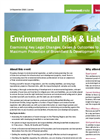 Environmental Risk & Liability Conference Programme