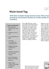 M100 Asset Tag Spec Sheet
