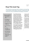 M131 Thin Asset Tag Spec Sheet