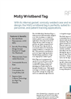 M163 Wristband Tag Spec Sheet