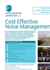 Cost Effective Noise Management - Flyer Brochure