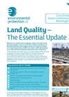 Land Quality – The Essential Update 2010 - Flyer Brochure