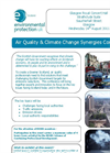Air Quality and Climate Change Synergies Conference - Scotland Brochure