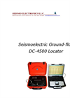 DC-4500 Seismoelectric Ground-flow Locator Brochure