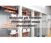Molecular gas filtration: chemisorption versus physisorption