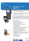 P611 Handheld Particle Counter Datasheet