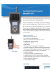 P311 Handheld Particle Counter Datasheet