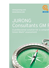 Green Mark - Version GM Pro - JURONG Consultants Software Brochure