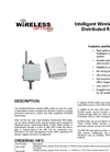 Intelligent Wireless SCADA Distributed RTU System - Data Sheet