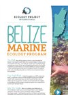 Belize - Marine Ecology Course Brochure