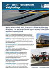 Leon - DIY - Steel Transportable Weighbridge Datasheet