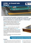 Leon - LESIM - In Ground Axle Weigher Datasheet