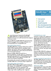 DataBridge Serial Data Recorder SDR2-OEM-CF Datasheet