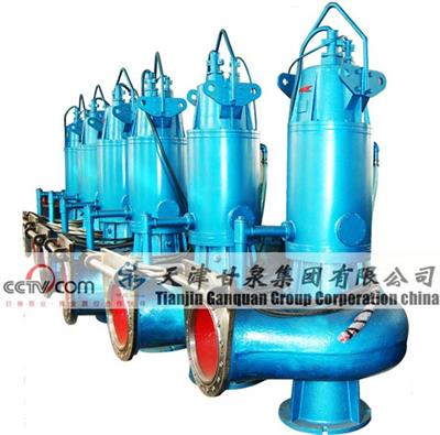 GanQuan - Model QWB - Submersible Sewage Pump