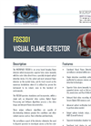 Model FDS301 - Visual Flame Detector Brochure