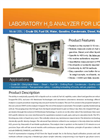 H2S Liquids Analyzer Brochure