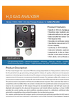 H2S Gas Analyzer- Brochure