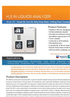 H2S Diesel Process Analyzer- Brochure
