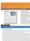 Hydrocarbon VOC Water Analyzer- Brochure