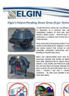 Elgin's Patent-Pending Direct Drive Dryer Technology - Brochure