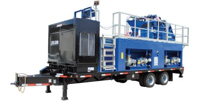 Elgin - Model KEMTRON 600HD2 - Packaged Mud Recycling System