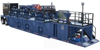 Elgin - Model KEMTRON 1500HD2 - Packaged Mud Recycling System