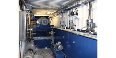 Elgin - 40 Foot Containerized Dewatering and Waste Oil Treatment System