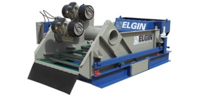 Elgin - Suspended Solids Separation Vibratory Shaker and Hydrocyclone Desilter Systems