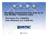 Managing Contaminant Flux with an Engineered In-Situ Aerobic Treatment Zone by Paul J. Favara