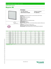 Megalam - ME - Panel Filters - Datasheet