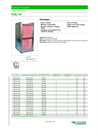 FCBL-HF - Duct Filter Housing System - Datasheet