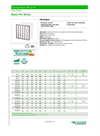 Basic-Flo - Green - Bag Filters Synthetic Media - Datasheet