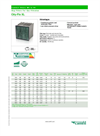 City-Flo - XL Series - Bag Filters For Gas Filtration - Datasheet