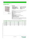 Termikfil - 2000 - Panel Filters for High Temperature - Datasheet