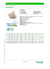 EcoPleat - Eco - High Efficiency Panels - Datasheet