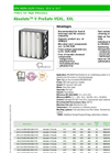 Absolute- ProSafe - Model V , VGXL, XXL - HEPA Filters Brochure