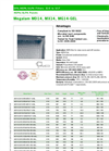 Megalam - Model MD14, MX14, MG14-GEL - HEPA Panel Filters Brochure