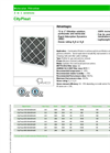 CityPleat - Carbon Panel Filter- Brochure