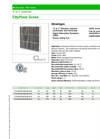 CityPleat - Green Carbon Panel Filter Brochure