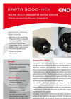 KAPTA - Model 3000-AC4 - In-line Multi-Parameter Water Sensors - Datasheet