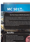 Non-Toxic Cleaner & BioFilm Remediator MC 501