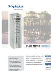 Kytola Instruments Model A Variable Area Flow Meter
