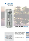 Kytola Instruments Model C Variable Area Flow Meter