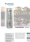 Kytola Model D Variable Area Flow Meter